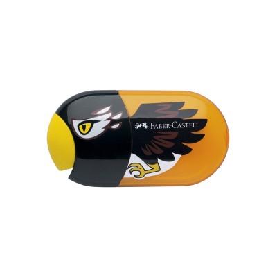 Faber-Castell Острилка, двойна, с гума, орел