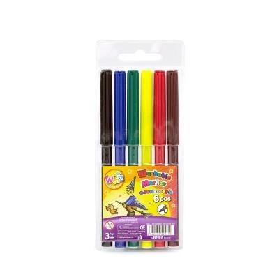 Beifa Флумастери WMZ, 6 цвята