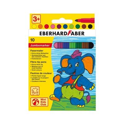 Eberhard Faber Флумастери Jumbo, 10 цвята