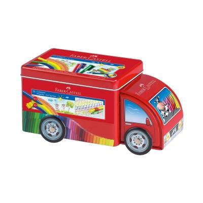 "Faber-Castell Флумастери Connector, комплект ""Камион"", 33 цвята"