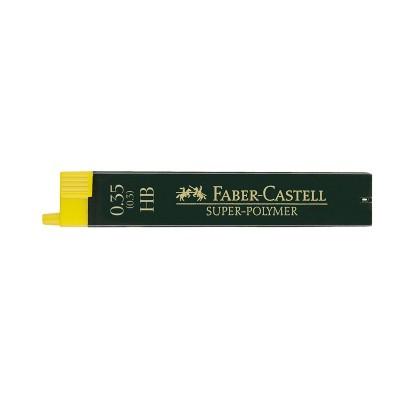Faber-Castell Мини графити Super-Polymer, 0.35 mm, HB, 12 броя