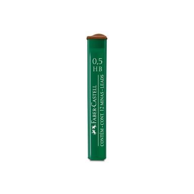 Faber-Castell Мини графити 9125, 0.5 mm, HB, 12 броя