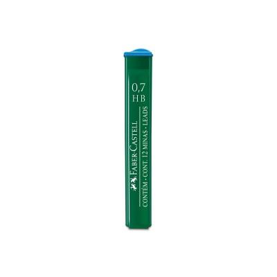 Faber-Castell Мини графити 9127, 0.7 mm, HB, 12 броя