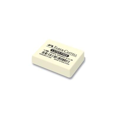Faber-Castell Гума 7041-40, за молив, бяла