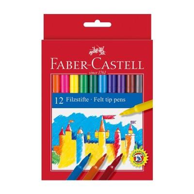 Faber-Castell Флумастери, 12 цвята