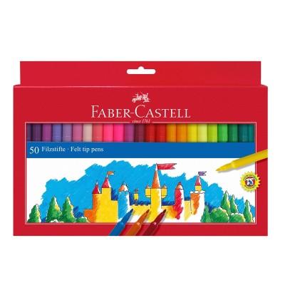 Faber-Castell Флумастери, 50 цвята