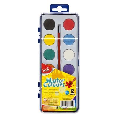 Beifa Акварелни бои WMZ, 28 mm, 12 цвята