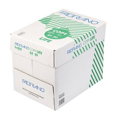 Fabriano Копирна хартия Copy Life, 85% рециклирана, A4, 80 g/m2, 500 листа, 5 пакета