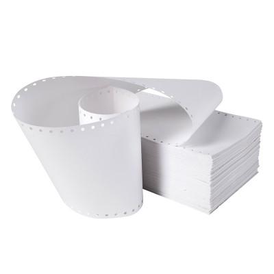 Безконечна принтерна хартия, 380 mm, 11'', 1 пласт, бяла