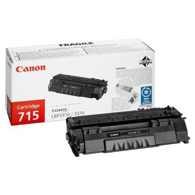 Canon Тонер CRG-715, 3000 страници/5%, Black