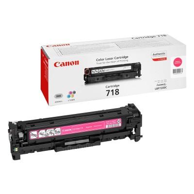 Canon Тонер CRG 718, 2900 страници/5%, Magenta