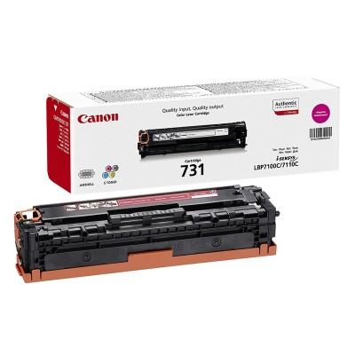 Canon Тонер CRG-731, 1500 страници/5%, Magenta