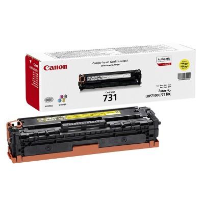 Canon Тонер CRG-731, 1500 страници/5%, Yellow