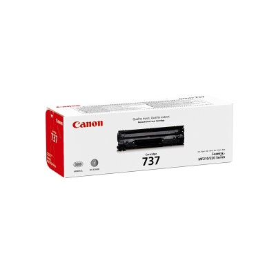 Canon Тонер CRG-737, MF211/216/219, 2400 страници/5%, Black