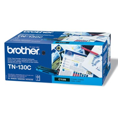 Brother Тонер TN-130C, 1500 страници, Cyan