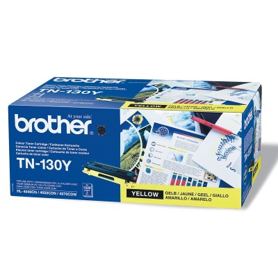 Brother Тонер TN130, HL4040/DPC9040, 1500 страници/5%, Yellow