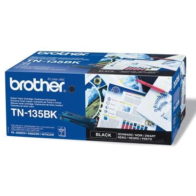 Brother Тонер TN-135BK, 5000 страници, Black