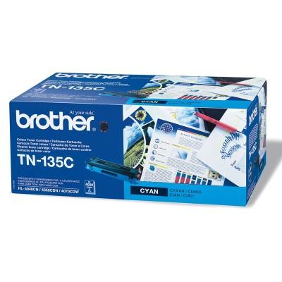 Brother Тонер TN-135C, 4000 страници, Cyan