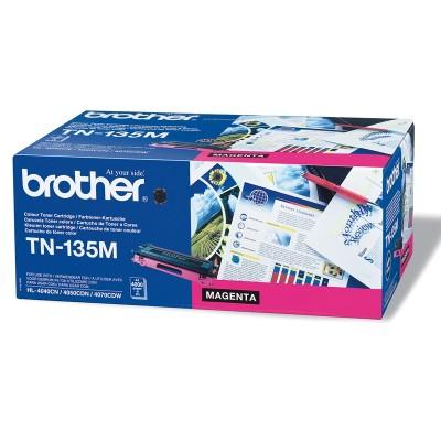 Brother Тонер TN-135M, 4000 страници, Magenta