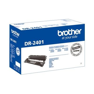Brother Барабан DR-2401, 12 000 страници, Black
