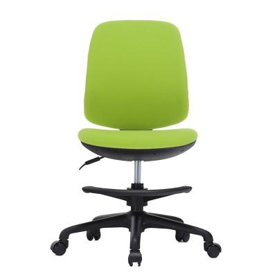 RFG Детски стол Candy Foot Black, дамаска, зелена седалка, зелена облегалка