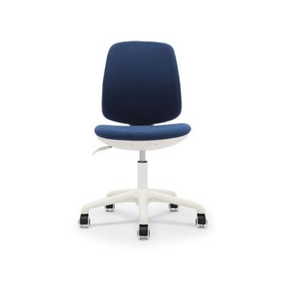 RFG Детски стол Lucky White, дамаска, синя седалка, синя облегалка