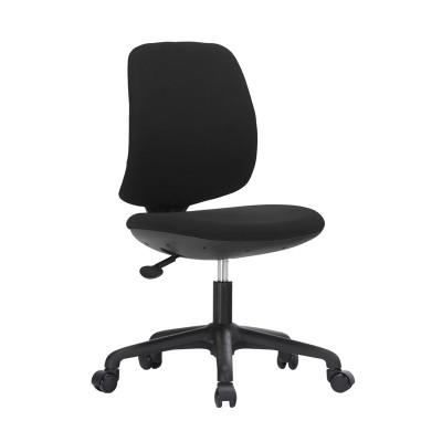 RFG Детски стол Lucky Black, дамаска, черна седалка, черна облегалка