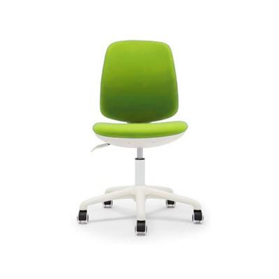RFG Детски стол Lucky White, дамаска, зелена седалка, зелена облегалка