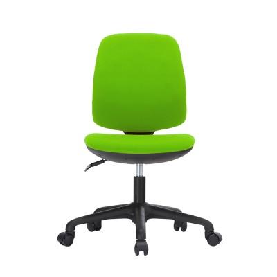 RFG Детски стол Lucky Black, дамаска, зелена седалка, зелена облегалка