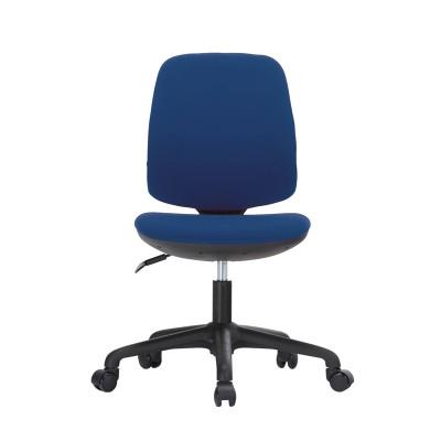 RFG Детски стол Lucky Black, дамаска, синя седалка, синя облегалка