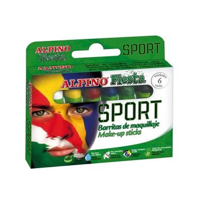 Alpino Бои за лице, футбол, 6 цвята