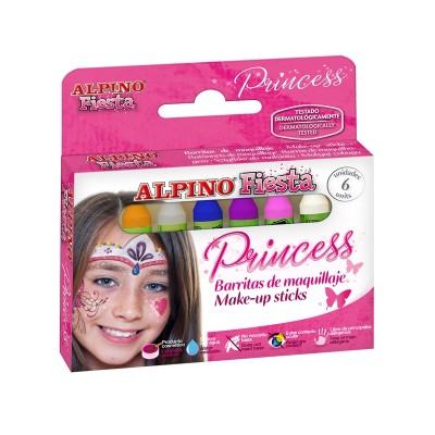 Alpino Бои за лице, принцеса, 6 цвята