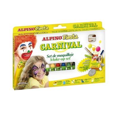 Alpino Бои за лице, карнавален комплект