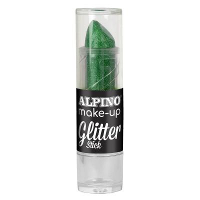 Alpino Боя за лице с брокат, 4 g, зелена