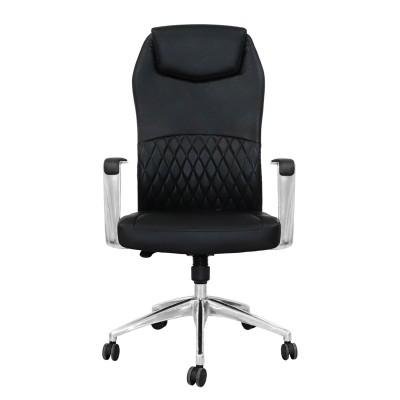 RFG Директорски стол CRONO HB, екокожа, черен