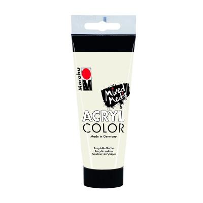 Marabu Акрилна боя Acryl Color, № 070, бял, 100 ml