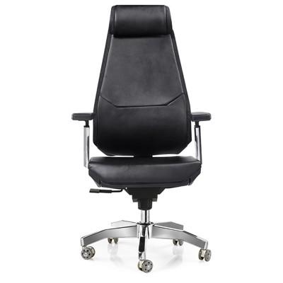 RFG Директорски стол Glory HB, екокожа, черен