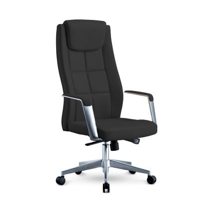 RFG Директорски стол BOGART HB, екокожа, черен