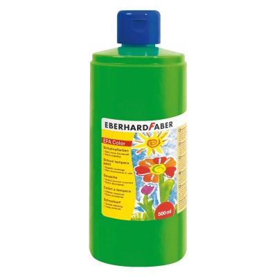 Eberhard Faber Темперна боя, 500 ml, светлозелена
