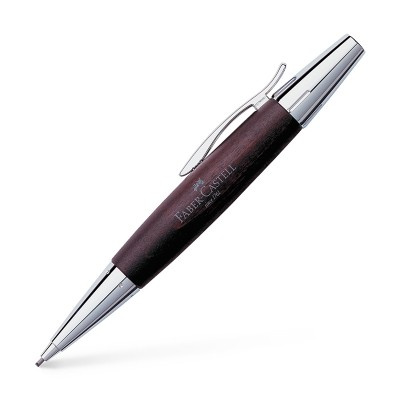 Faber-Castell Автоматичен молив E-motion Pearwood, тъмнокафяво дърво