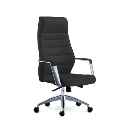 RFG Директорски стол ITACA HB, екокожа, черен