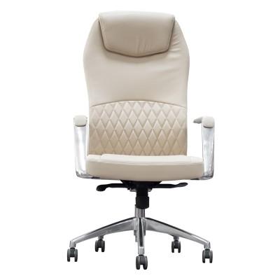 RFG Директорски стол CRONO HB, екокожа, бежов