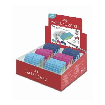 Faber-Castell Гума Trend Bicolor, микс цветове