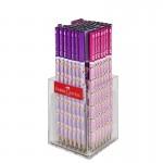 Faber-Castell Молив, чернографитен, 2B, цвят фламинго