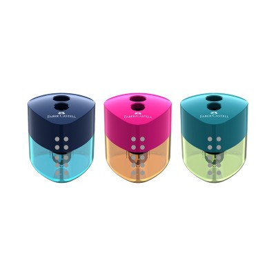 Faber-Castell Острилка Trend Auto, двойна, микс цветове