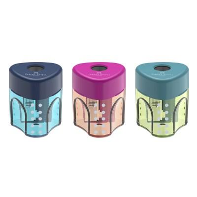 Faber-Castell Острилка Trend Auto, единична, микс цветове
