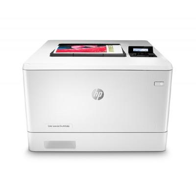 HP Лазерен принтер Color LaserJet Pro M454dn, A4, с дуплекс и мрежа, цветен