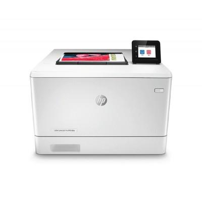 HP Лазерен принтер Color LaserJet Pro M454dw, A4, с дуплекс, мрежа и Wi-Fi, цветен