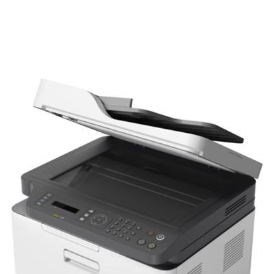 HP Лазерен принтер 4 в 1 Color Laser MFP 179fnw, A4, цветен