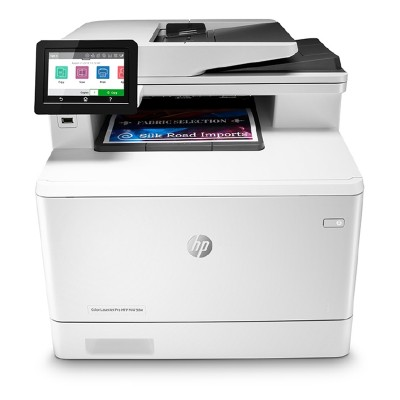 HP Лазерен принтер 4 в 1 Color LaserJet Pro MFP M479dw, A4, цветен